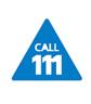 call 111 image